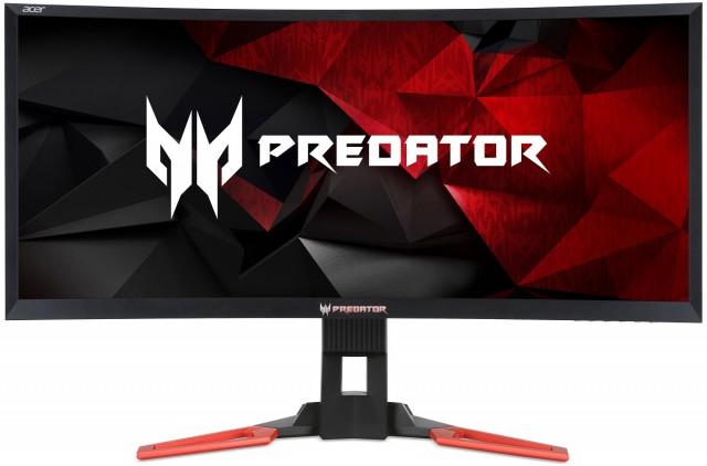 "Acer Predator Z35 Monitor 35"" Ultrawide Hajlított G-Sync"