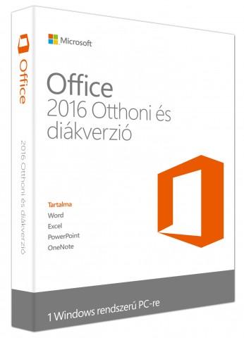 Microsoft Office 2016 Otthoni és diák verzió