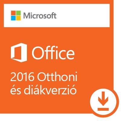Microsoft Office 2016 Otthoni és diák verzió ESD (Letölthető)