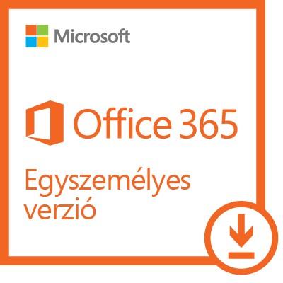 Microsoft Office 365 Egyszemélyes verzió ESD (Letölthető)