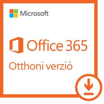 Microsoft Office 365 Otthoni verzió 5 felhasználó ESD (Letölthető)